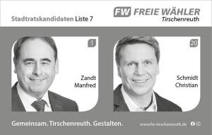 Stadtratskandidat 1 und 20